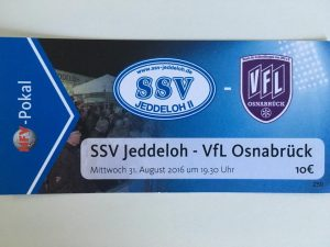 NFV Pokal SSV gegen Osnabrück